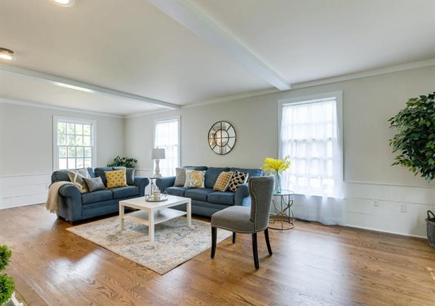 Recent Home Staging in Haddonfield, NJ